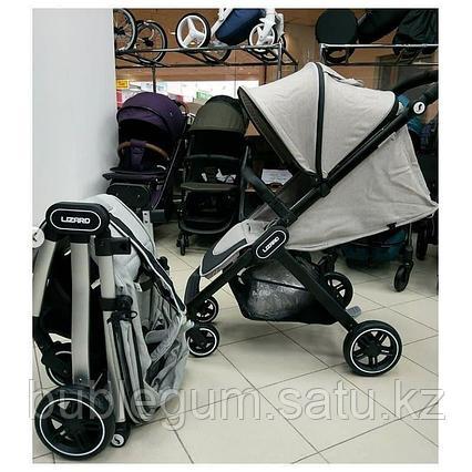 PITUSO коляска детская прогулочная LIZARD GREY серый с чехолом на ножки