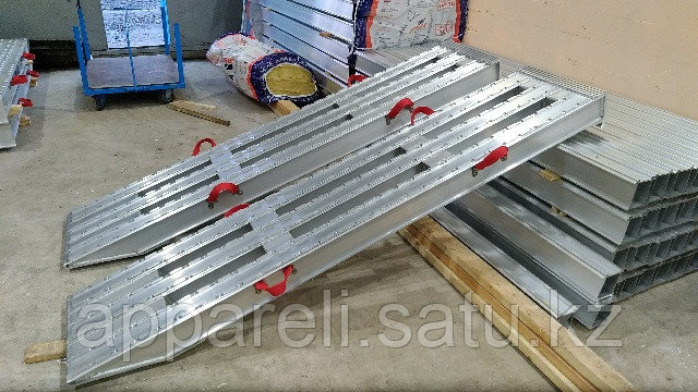 Алюминиевые сходни от производителя (трап, аппарель) от 30 до 40 тонн