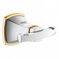 Крючок для халата GROHE Grandera, хром/золото (40631IG0)