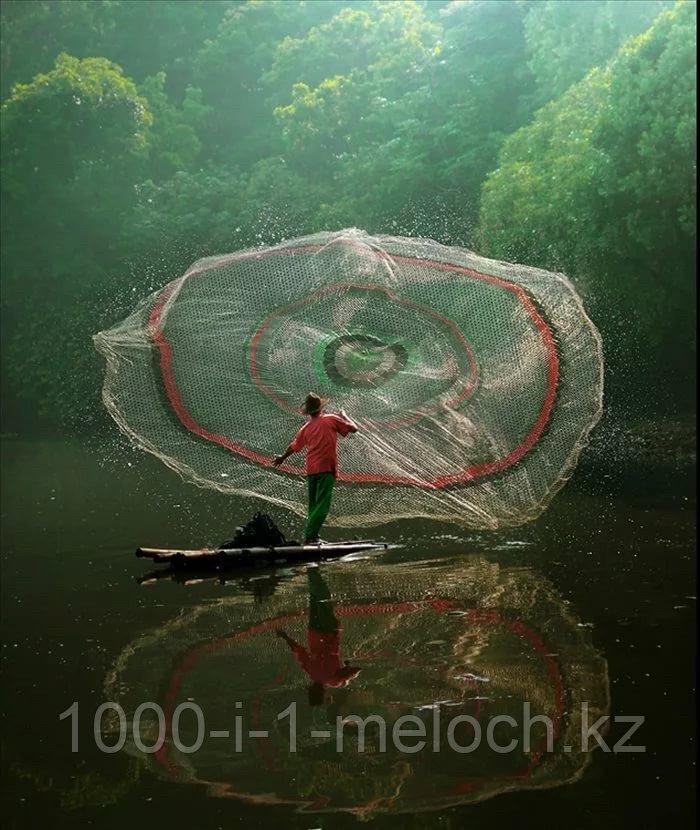 Касченговый сеть (американка) в диаметре 5,4м. лесковый - фото 2