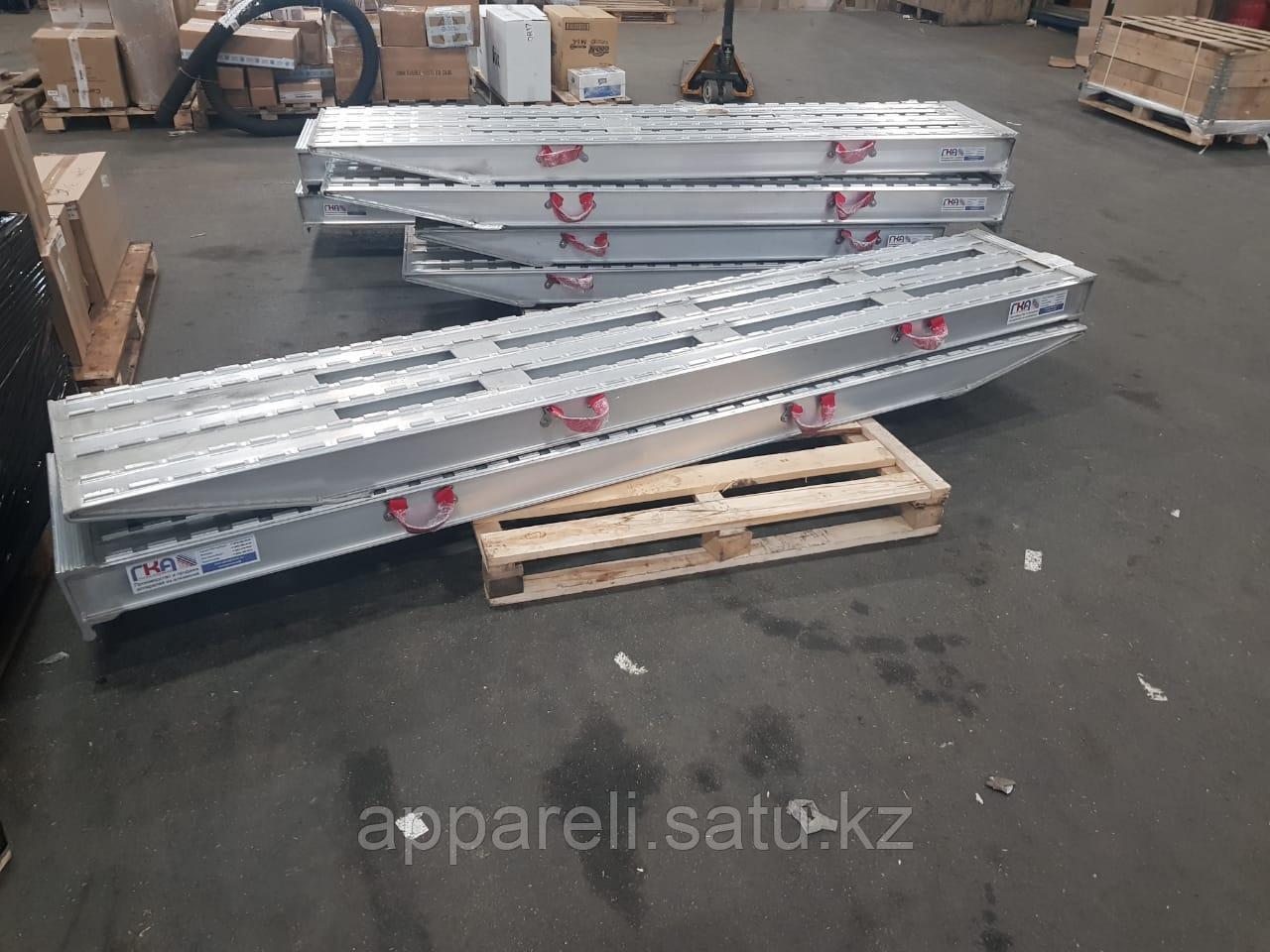 Алюминиевые сходни от производителя (трап, аппарель) 30 тонн