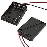 BOX Bat Holder 4*AAA (закр) контейнер для батареек
