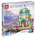 Конструктор лего Холодное сердце 2 Деревня в Эренделле SY1441 (Аналог LEGO Disney Princess 41167) 645 дет, фото 3