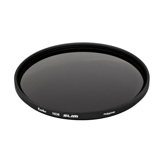 Фильтр нейтрально-серый (ND8) для объектива Kenko 62S ND8 SLIM (62 мм, Black)