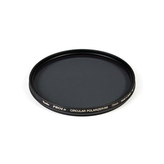 Фильтр поляризационный (CPL) для объектива Kenko 72S PRO1D C-PL W (72 мм, Black)