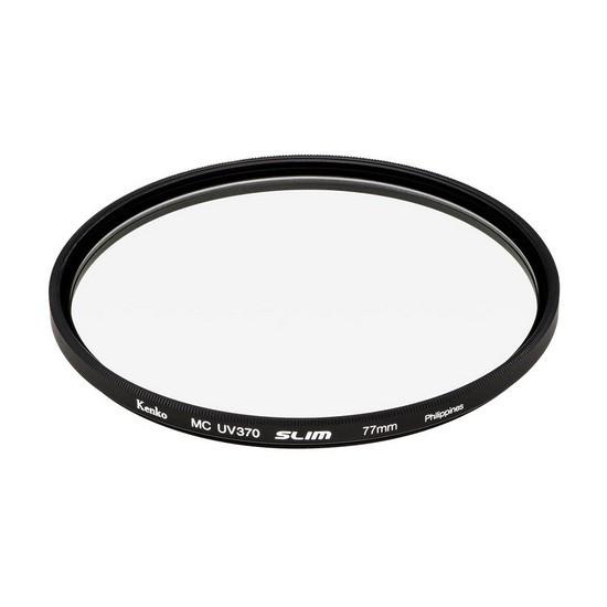 Фильтр ультрафиолетовый для объектива Kenko 77S UV370 SLIM (77 мм, Black)