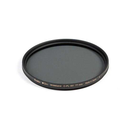 Фильтр поляризационный (CPL) для объектива Kenko 77S ZETA C-PL (77 мм, Black)