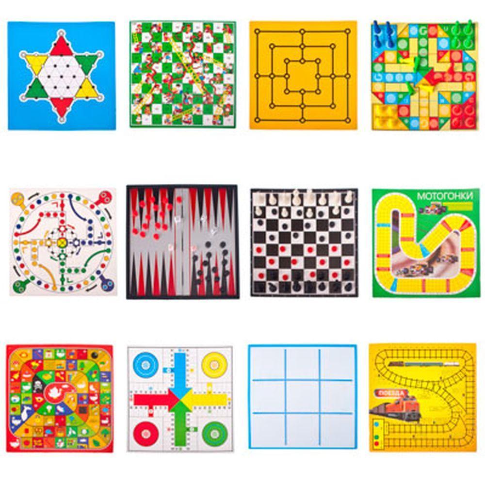 Игры. Набор магнитных игр 13 в 1. 538-004