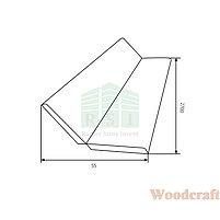 Угол универсальный (МДФ) №6003 Woodcraft, фото 2