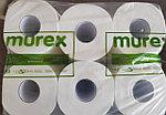 Бумажное полотенце рулонное для автоматических аппаратов MUREX (75м * 6 рулонов), фото 4