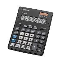 Калькулятор настольный Citizen Business Line CDB1601-BK, 16 разрядов, двойное питание, 155*205*35мм, черный