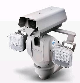 Pelco ES6230-12-R2 с дворником и ИК прожекторами