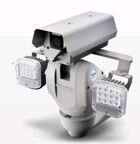 Pelco ES6230-12P-R2 поворотная с дворником и ИК прожекторами