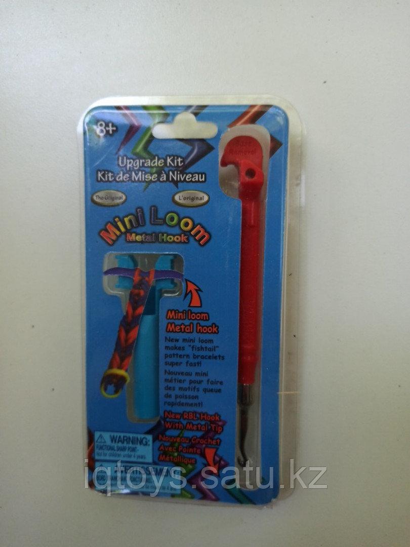 Крючок металлический для плетения резиночек с мини станком