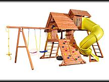"""Игровая площадка """"Playgarden Original Castle Turbo"""" с двумя горками и пентхаусом"""