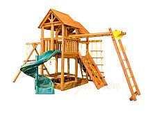 """Игровая площадка """"Playgarden SkyFort II Spiral"""" со спиральной горкой и рукоходом"""
