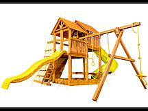 """Игровая площадка """"Playgarden SkyFort Deluxe"""" с двухволновой горкой и горкой трубой"""