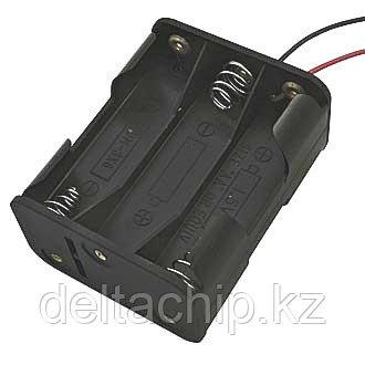 BOX Bat Holder BH-363A(BH-607) 6*AA контейнер для батареек
