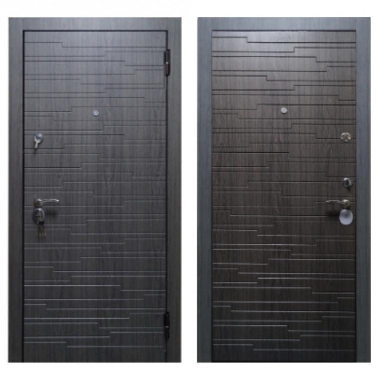 Металлические двери Премиум Грэй