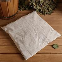 Подушка для бани с луговым сеном 38х40 см
