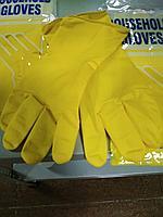 Перчатки GLOVES желтые хозяйственные