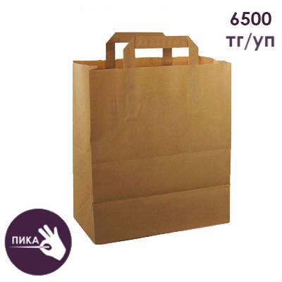 Пакет крафтовый бумажный (240+140)х280мм
