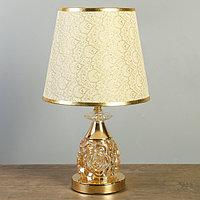"""Лампа настольная """"Мурайя"""" E27 40W низ с подсветкой 24х24х40,5 см"""