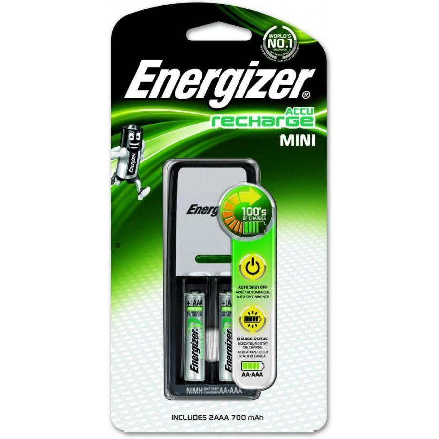Зарядное устройство для аккумуляторов ENERGIZER Base + 2 аккумулятора AAA 700mAh перезаряжаемые