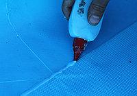 Уплотнительная масса ПВХ, 1 кг (цвет - светло-голубой)