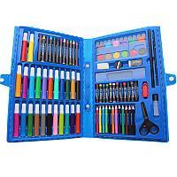 """Набор для рисования """"Юный художник"""", 86 предметов, в чемоданчике., фото 1"""