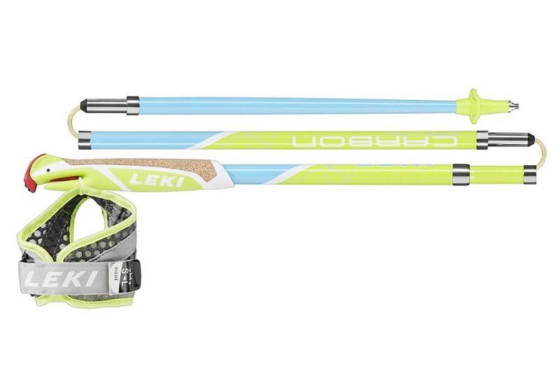 Палки для скайранинга и трейлраннинга Leki Micro Flash Carbon (105см - 120см)