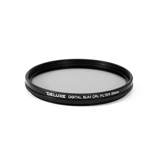Фильтр поляризационный (CPL) для объектива Deluxe DLCA-CPL 58 mm (Ультратонкий, 58 мм, Black)