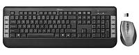 Комплект клавиатура+мышь Trust Tecla черный