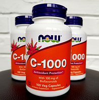 Now Foods, Витамин C-1000, 100 капсул., фото 1