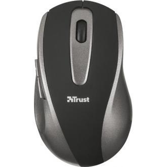Мышь беспроводная Trust EasyClick  черный