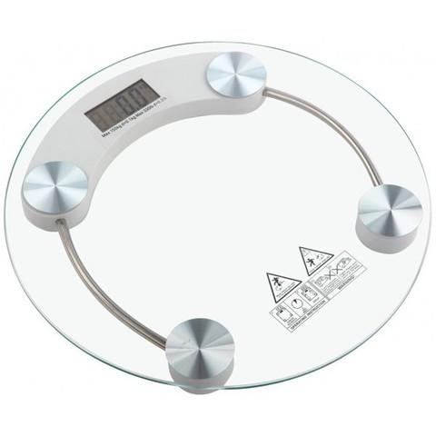 Весы наполные электронные стеклянные Personal Scale {до 180 кг} (Круг)