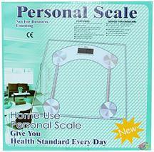 Весы наполные электронные стеклянные Personal Scale {до 180 кг} (Круг), фото 3