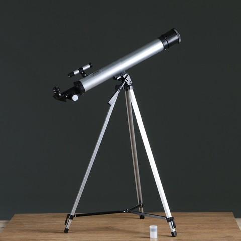 Телескоп напольный астрономический «Космос» со штативом и сменными линзами 50х-100х