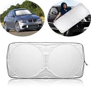 Солнцезащитный экран с каркасом автоматический на лобовое стекло автомобиля