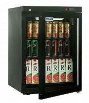 Шкаф холодильный POLAIR DM102-Bravo черный с замком