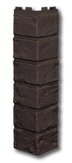 Наружний угол 420 мм VOX Vilo Brick DARK BROWN