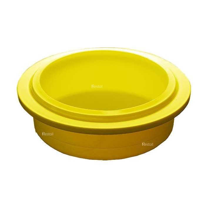 Крышка для стакана Pacojet 31947, желтый пластик, 10 шт./уп.