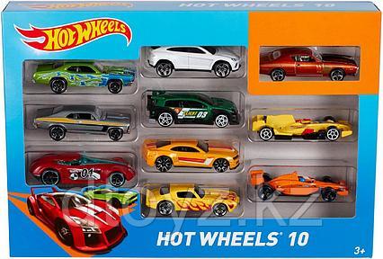 Hot Wheels Набор из 10 машинок