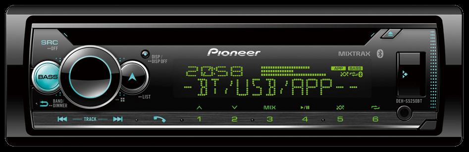 Автомагнитола Pioneer DEH-S5250BT