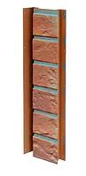 Планка универсальная 121x420 мм VOX Solid Brick Bristol (Кирпич) Бристоль