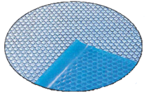Пленка  солярная  360 микрон,   голубая   (рулон 4 х 50м )