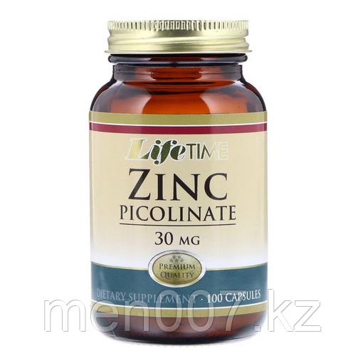 БАД Цинк пиколинат 30 мг Life Time (100 капсул)