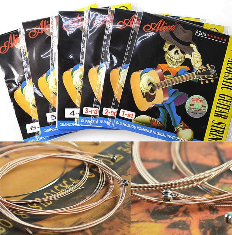 Струна  для акустической гитары Alice A-206-SL Super Light