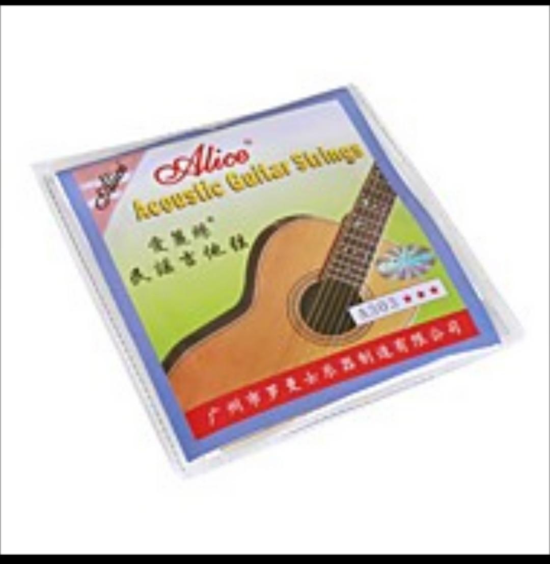 Струны для акустической гитары Alice A303
