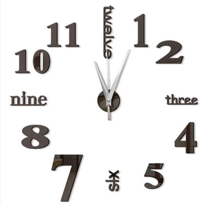 3D часы Dry Clock 130 см